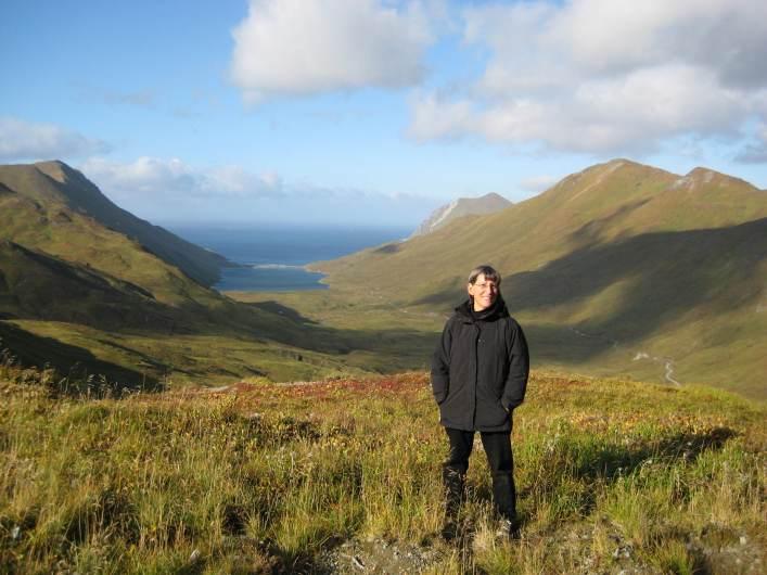 SJ Rozan in Alaska